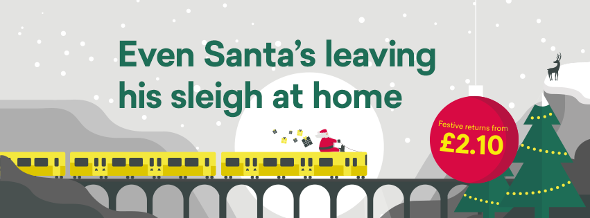 Christmas arrives at Merseyrail with calendar of festive activities across the network