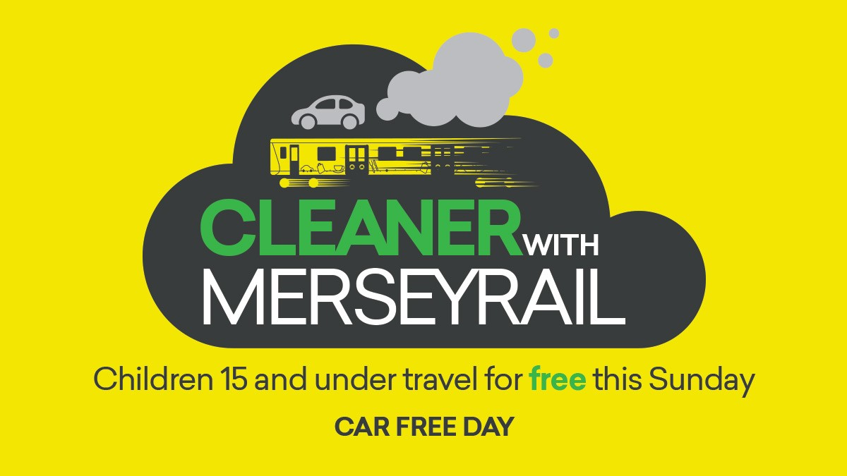 Merseyrail offers free travel to kids to celebrate Car Free Day