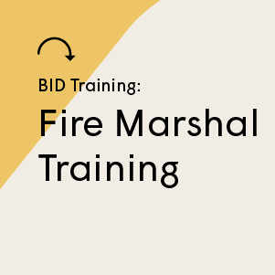 Fire Marshal Training Session