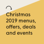 Christmas 2019 offers, news and special deals!