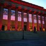 Liverpool creates temporary Hillsborough memorial for 30th anniversary