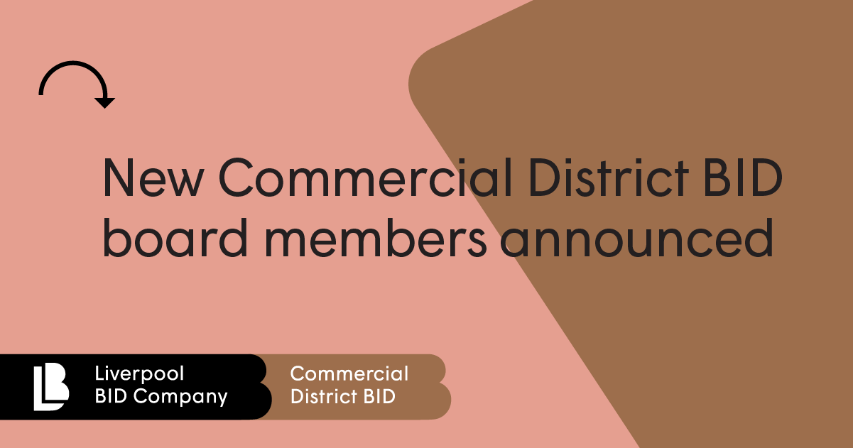 New Commercial District BID board members announced