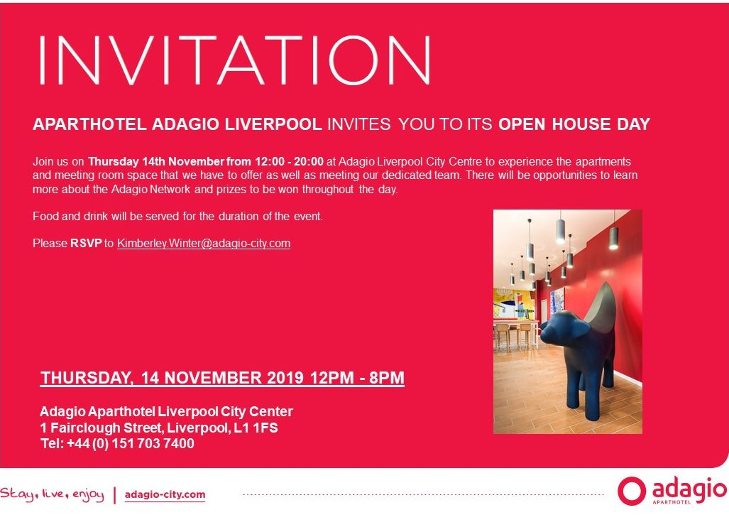 Open House Day at Aparthotel Adagio