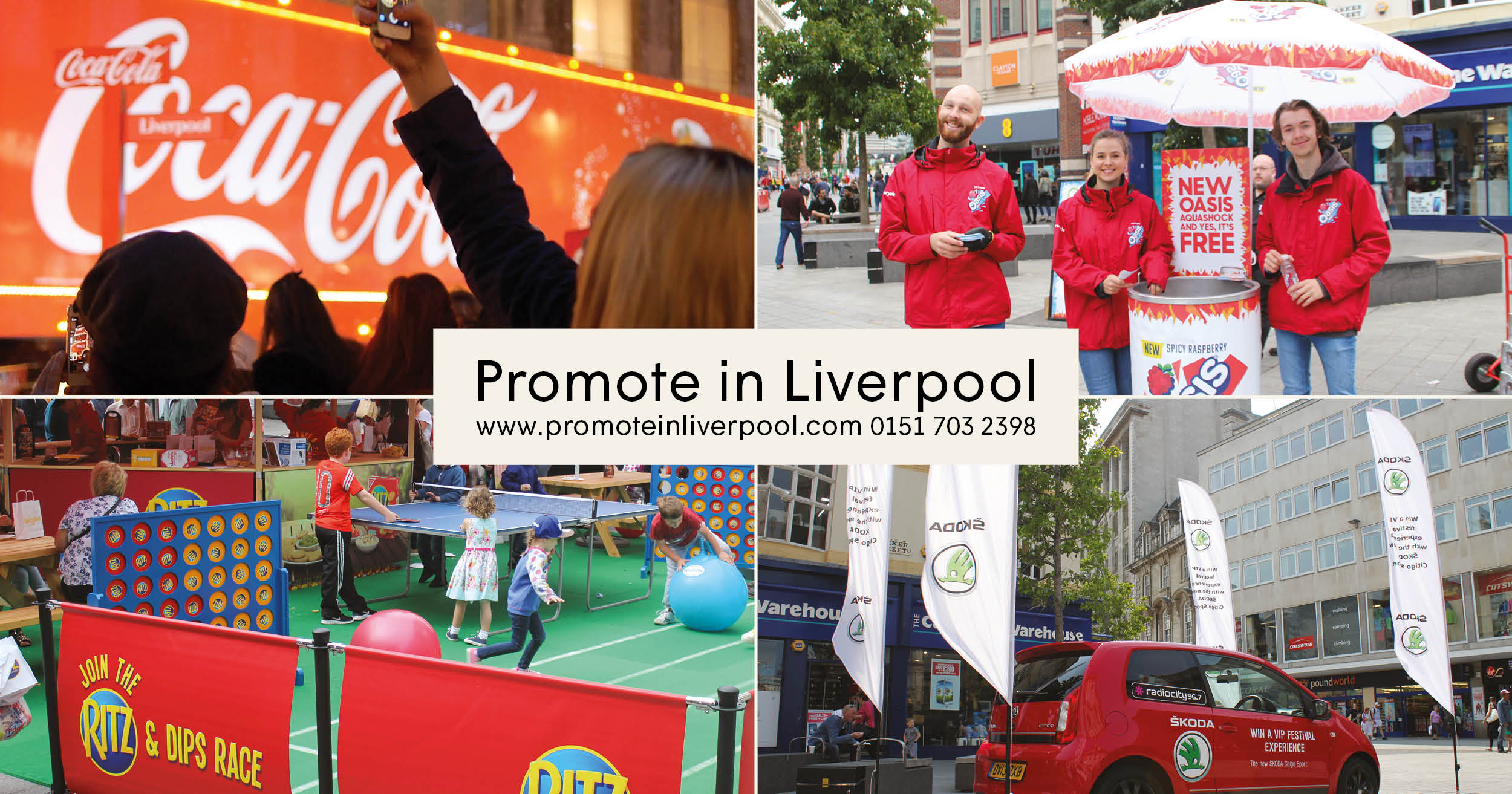 Promote in Liverpool - Socials