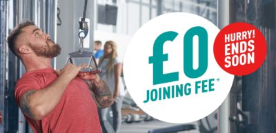 Zero joining fee at Pure Gym Liverpool Central