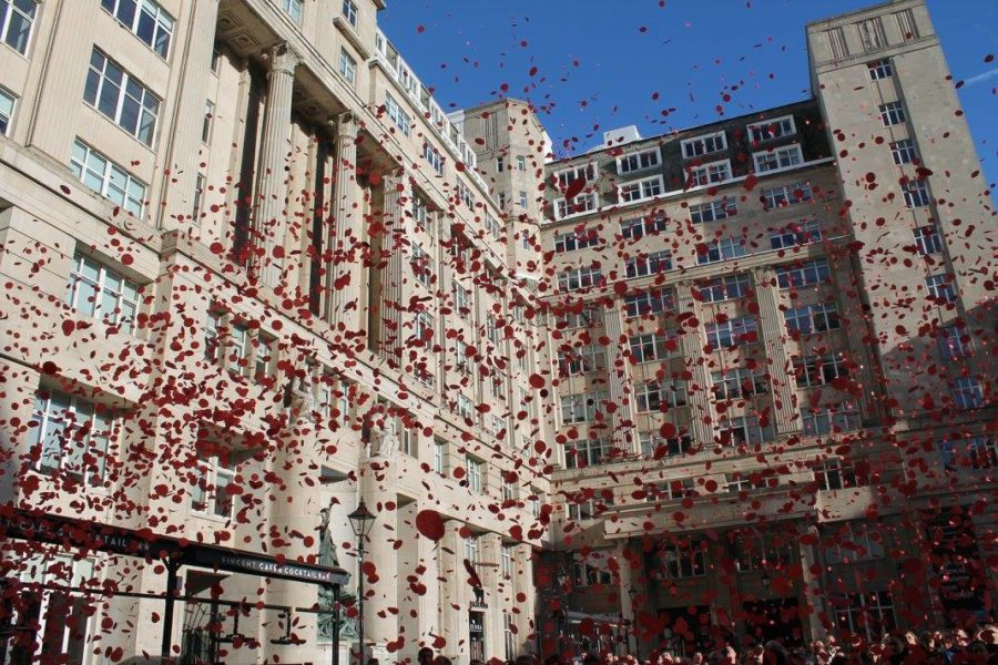 Remembrance service at Exchange Flags – Monday 11 November 11am
