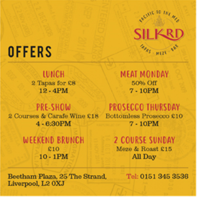 Silk Rd Weekly Offers