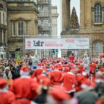 7,000 Santa's dash through city in annual festive spectacular