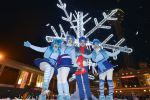 Snowflake Trail Switch On - Christmas 2015