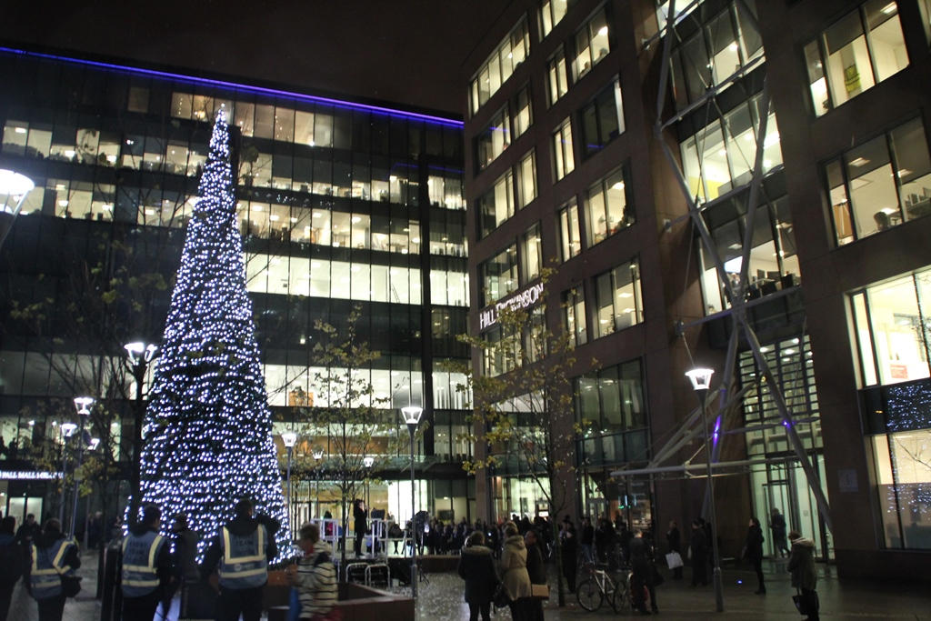 Snowflake Trail Christmas Tree Liverpool 2015 (1)