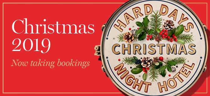 Spend your Christmas at Hard Days Night Hotel