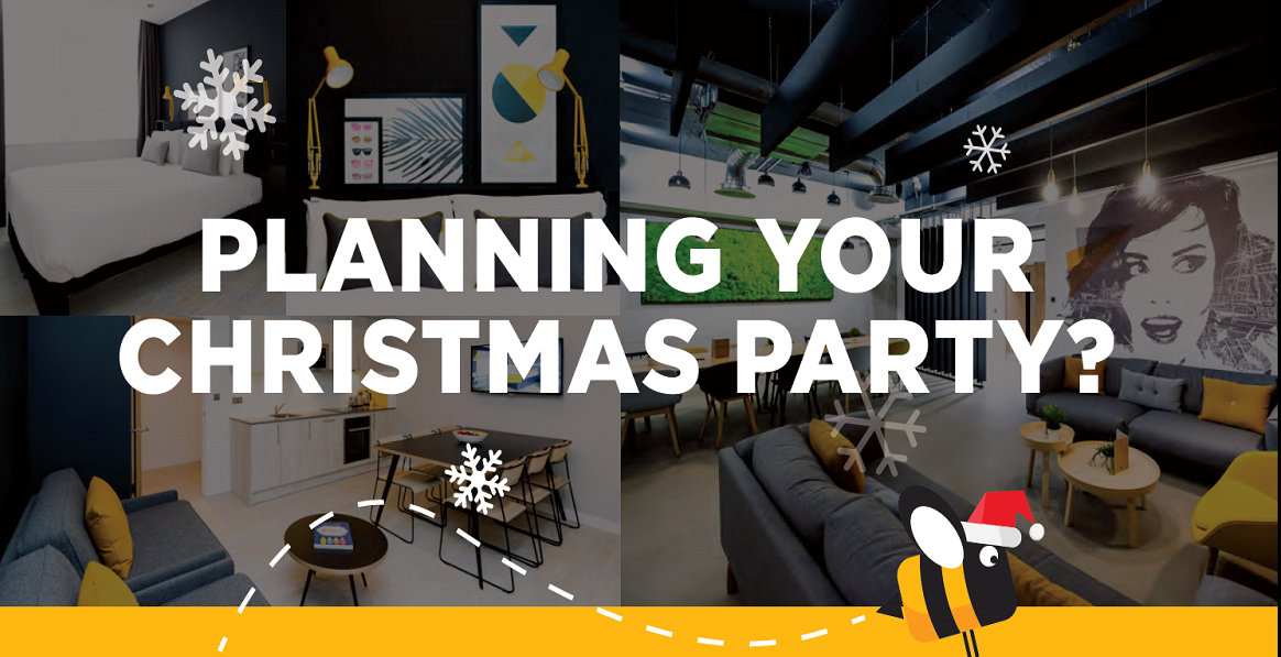 Plan your Christmas party with Staycty
