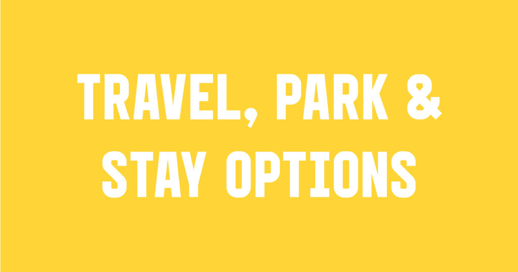 Student Takeover Travel, Park & Stay Options