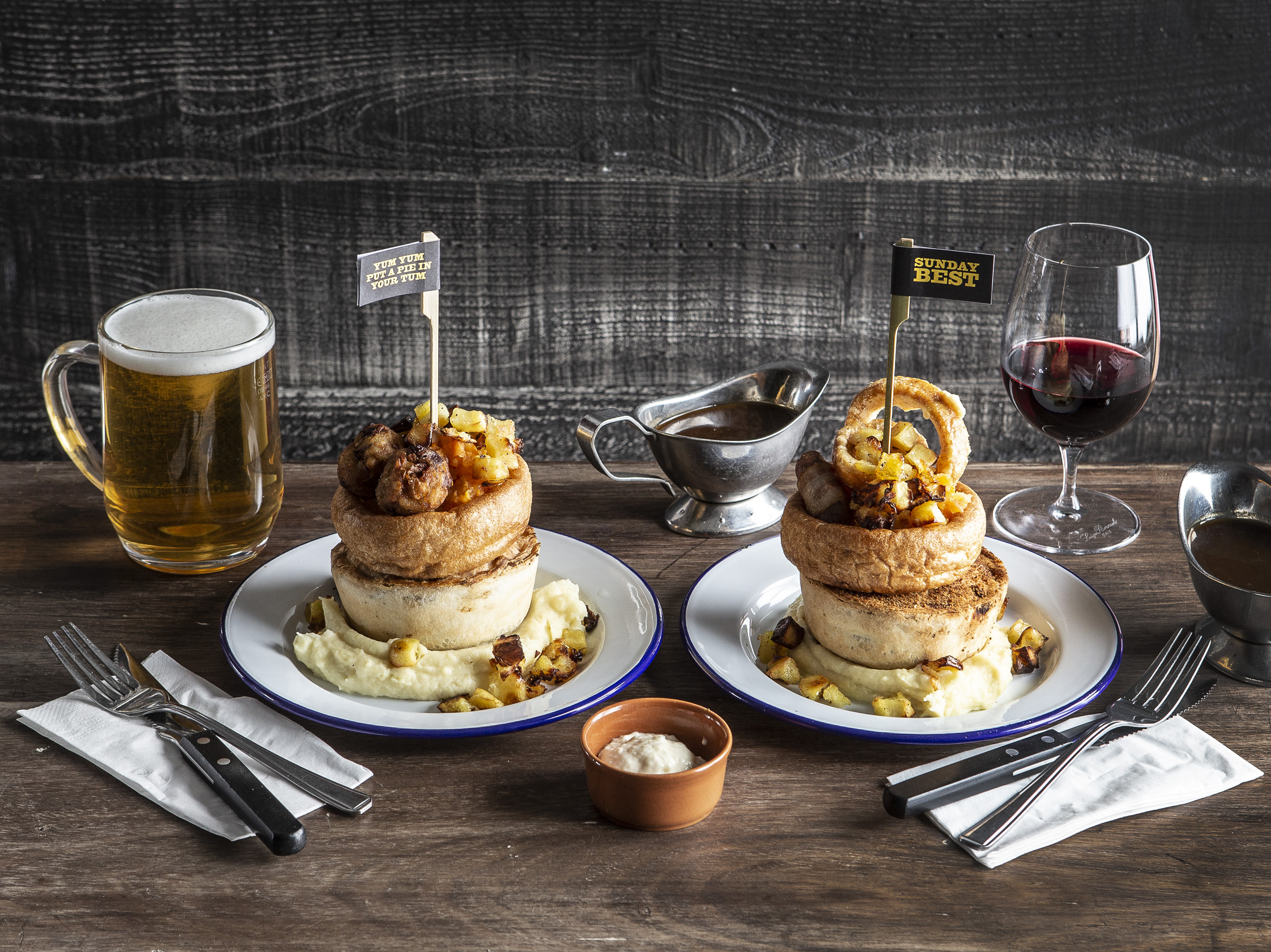 Imagine a world where roasts and pies collide…. This just happened, right here in Liverpool