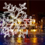 Britain's biggest snowflake for magical Christmas in Liverpool