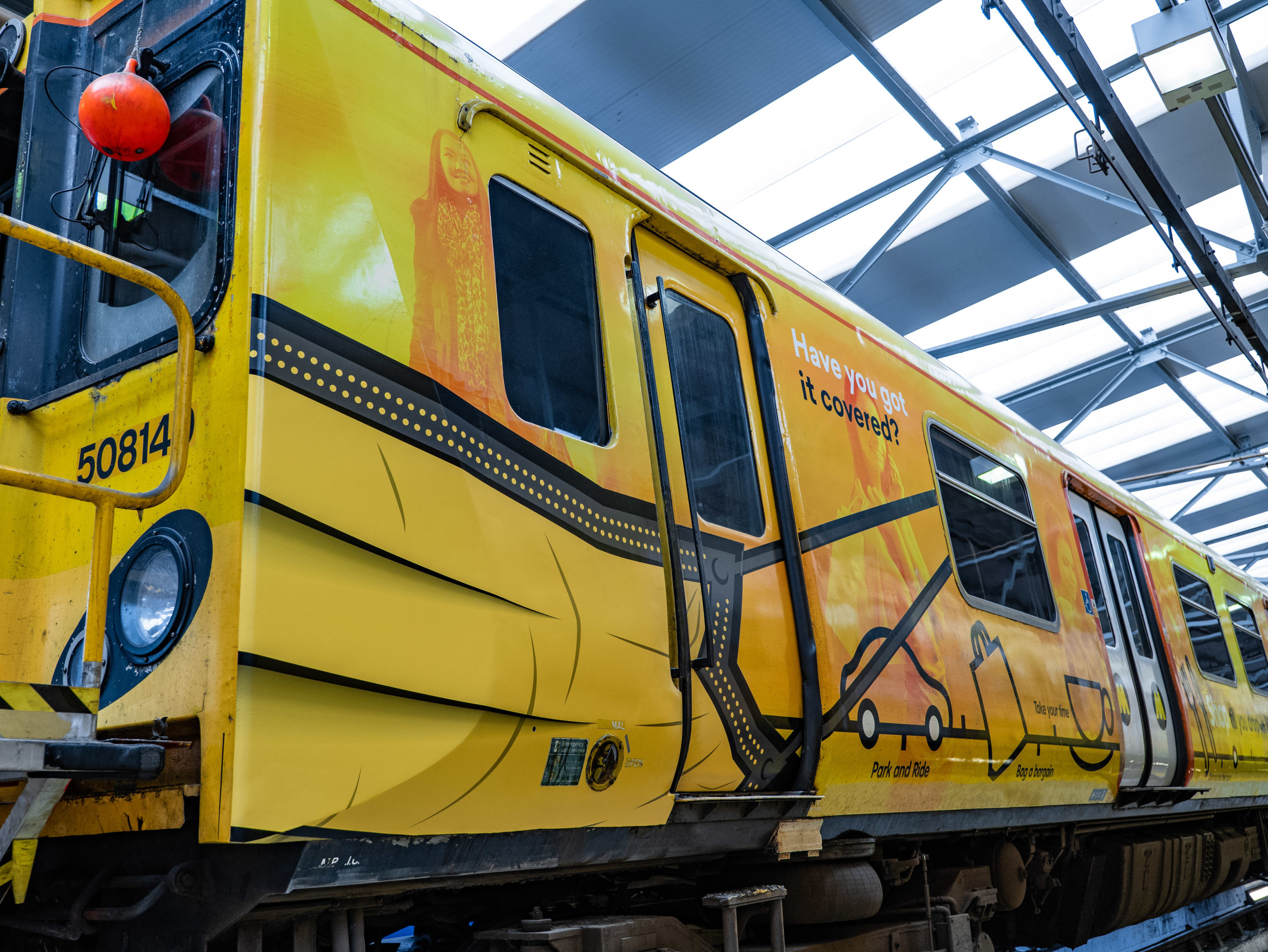 """Merseyrail trains """"cover up"""" as part of new face covering campaign"""