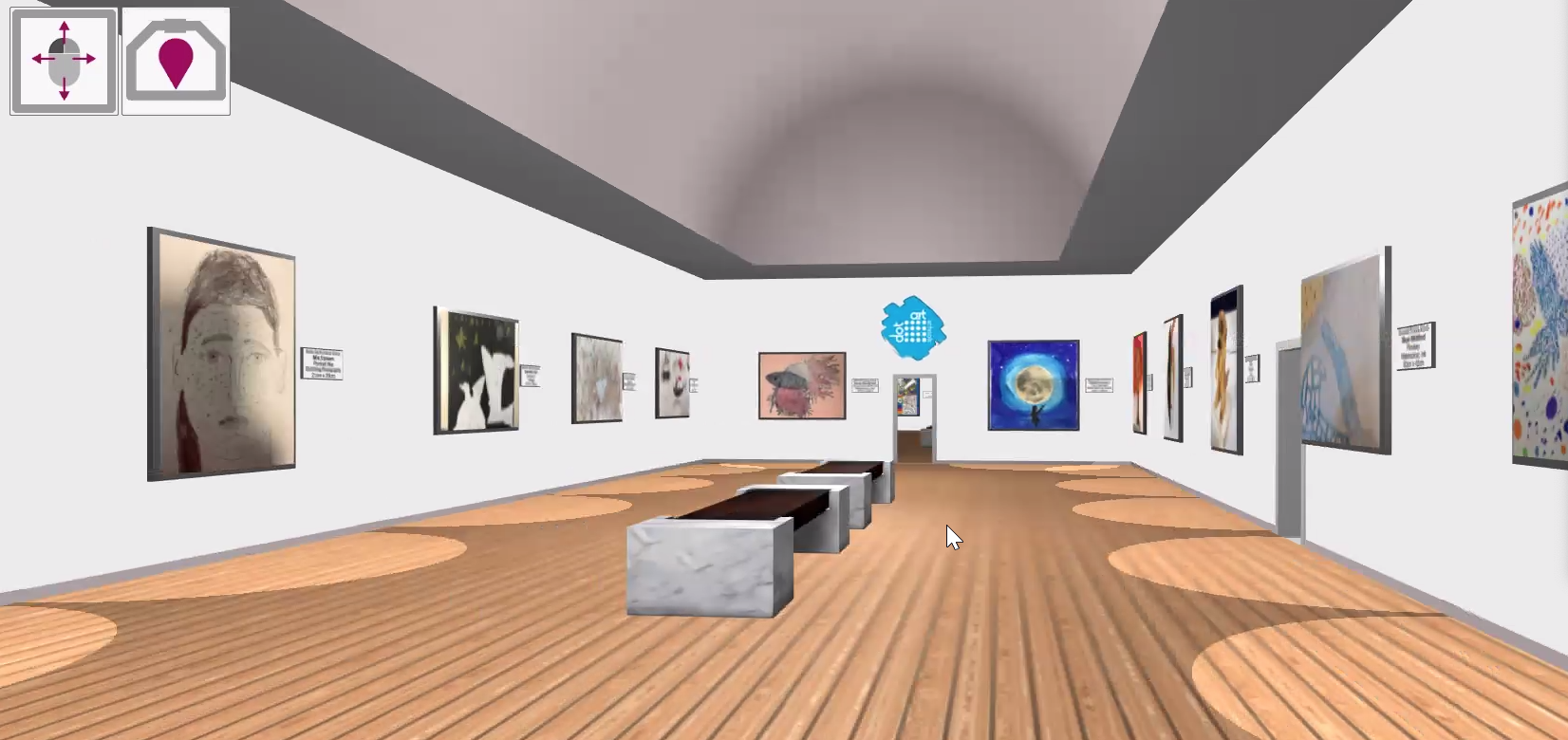 Virtual Gallery Opens Its Doors to Celebrate Art in Schools!