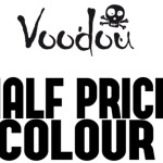 Half Price hair colour on Thursdays and Sundays with the Voodou hair colour specialists!