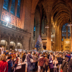 Winter Arts Market adds live music with Merseyrail Sound Station at Liverpool Cathedral, Saturday 2 Dec 2017