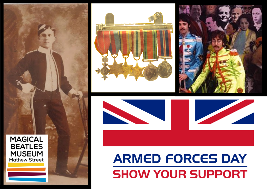 Get free entry to the Magical Beatles Museum this Armed Forces Day