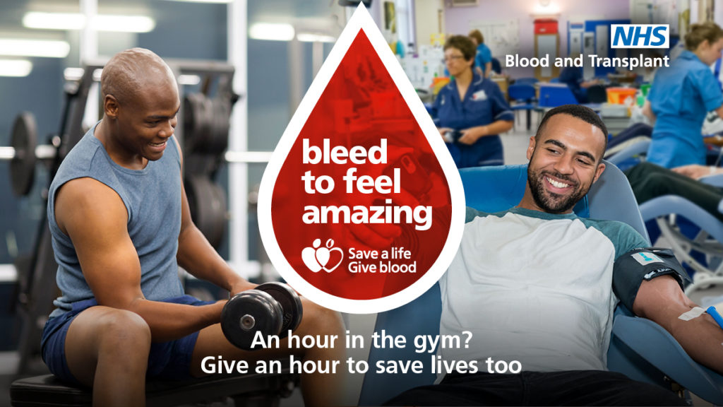 Save a life – Give blood. Register to give blood today