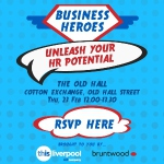 Book your place at Business Heroes: Unleash Your HR Potential