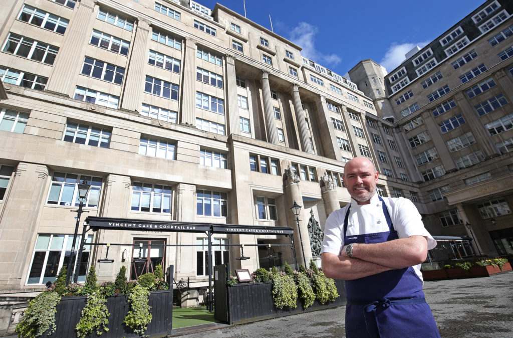 Chef Aiden Byrne acquires Liverpool's The Vincent Café & Cocktail Bar to relaunch as The Metropolitan Bar & Grill Rooms