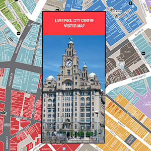 Liverpool city centre map