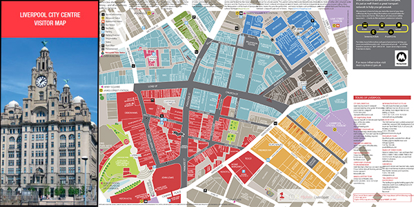 Liverpool City centre map - Liverpool BID Company on