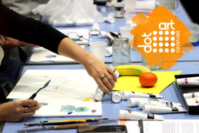 Spring Creative Courses from dot-art