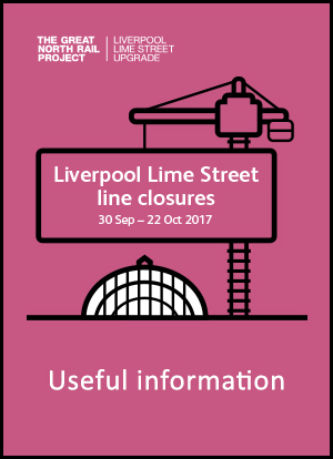 lime street line closure information