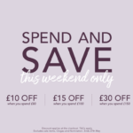 Enjoy various discounts when spending at Mococo this bank holiday weekend.