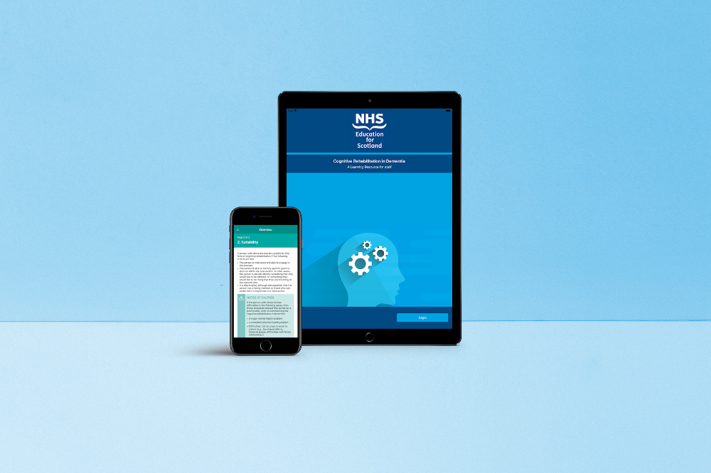 Liverpool agency builds innovative dementia app for NHS Education for Scotland