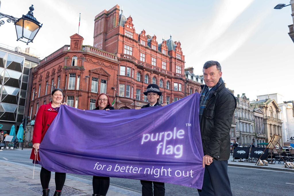 Purple Flag status retained again