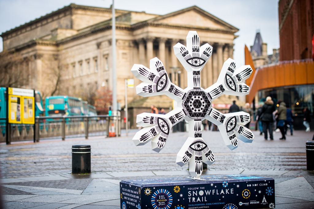 Liverpool Snowflake Trail