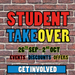 Student Take Over Week 2016 – Get involved!