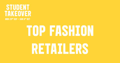 Student Takeover Top Fashion Retailers