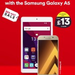 Free Tablet with the Samsung Galaxy A5 at Virgin Media