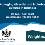 Managing diversity and inclusive cultures in business – IFB2016 – Panel session