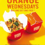 Wok To Walk Orange Wednesday's